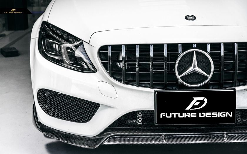 Panamericana Gt Style Front Grill W205 C205 S205 C Class Front