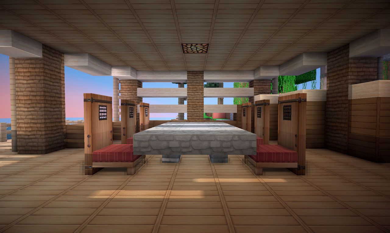 Jungle House On World Of Keralis Minecraft Project Jungle House Minecraft House Designs Minecraft Room Living room ideas keralis