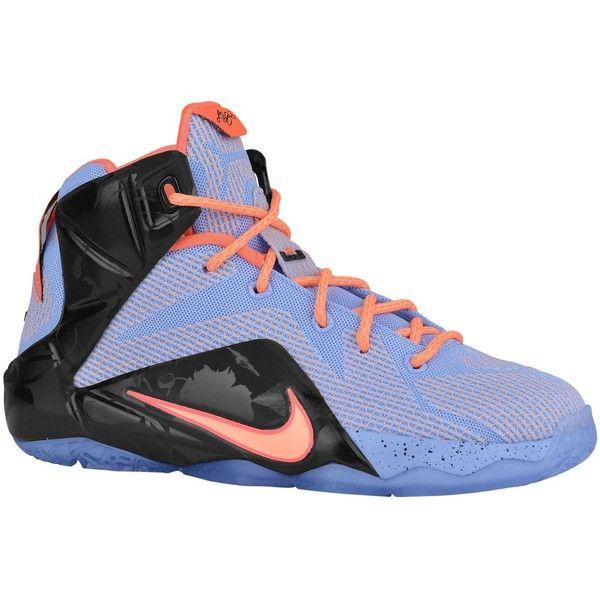 online store 99d33 0a1b5 Nike LeBron 12 Boys' Grade School ($130) ❤ liked on ...