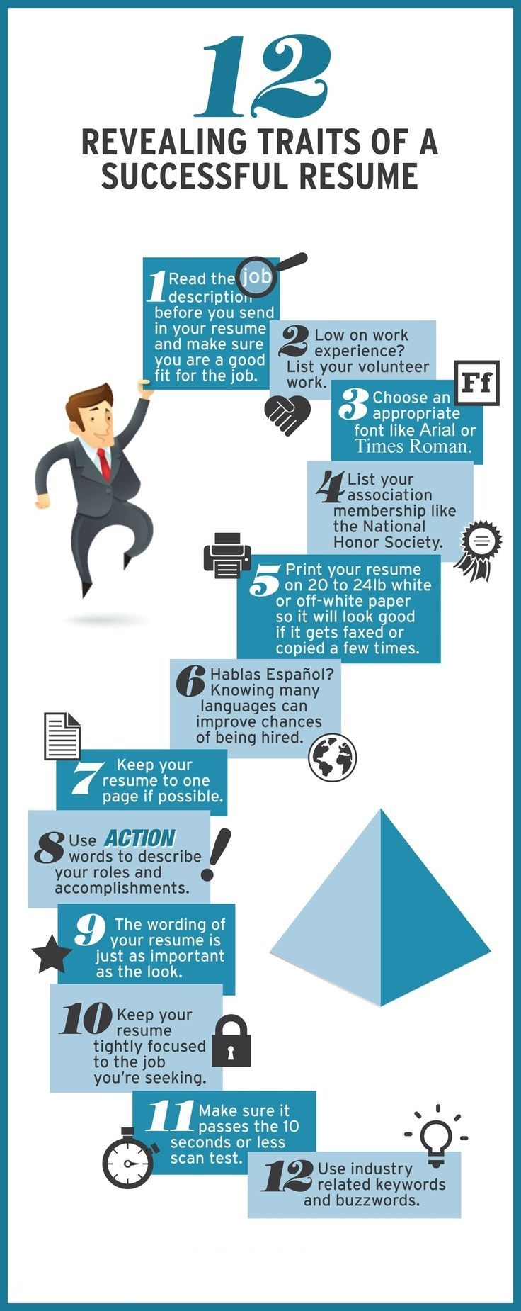 Traits of a successful resume #resumewriting #resumes #Success ...