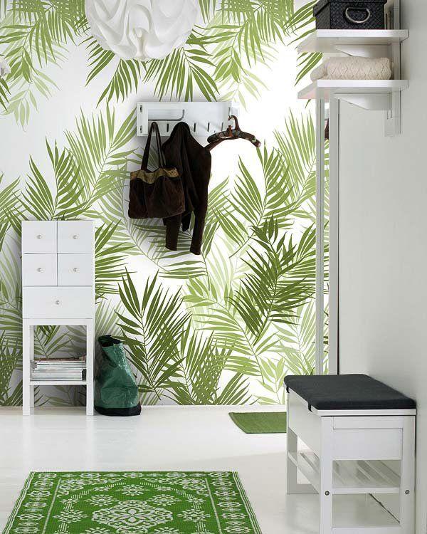 Viste la casa de flores se lleva el papel pintado papel - La casa del papel pintado ...