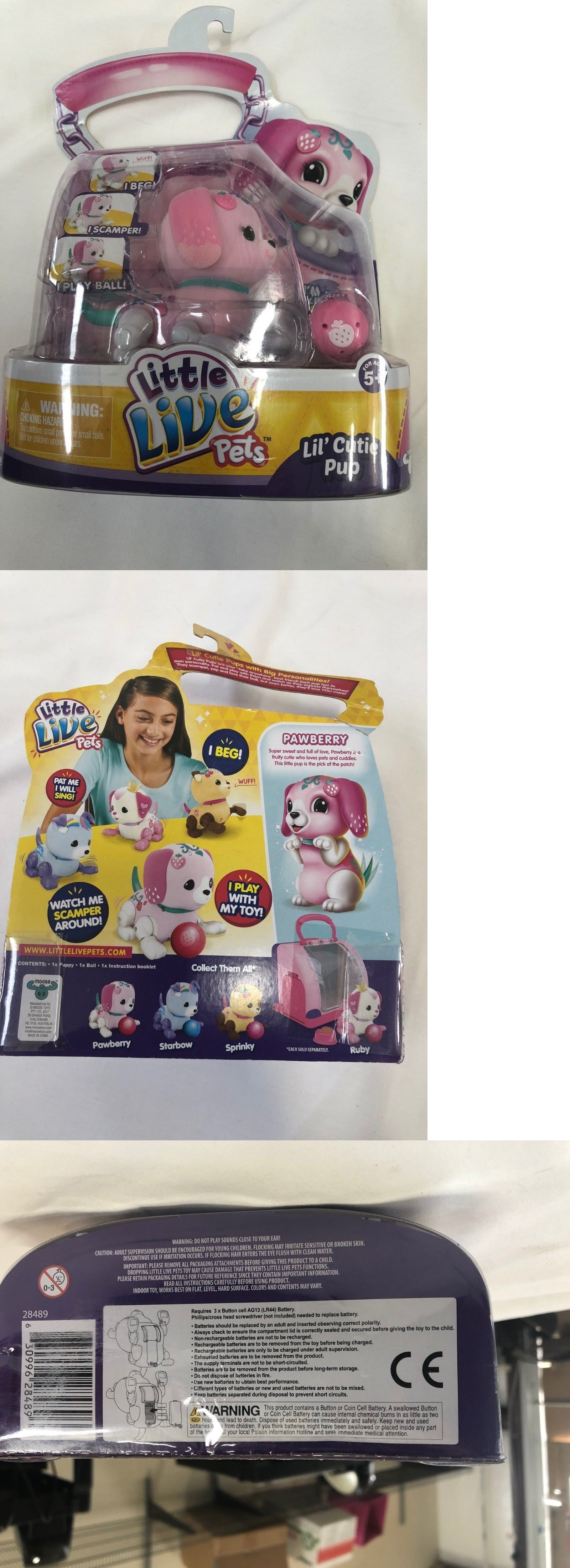 Little Live Pets S1 Cutie Pup Single Pack Pawberry Mixed Lots Pop Ice Paket Bundle 49018 Buy It Now Only 1395 On Ebay