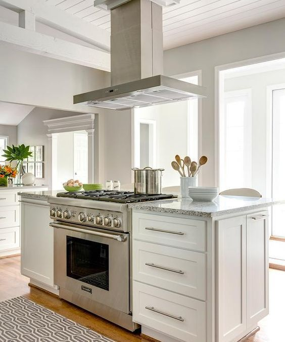 Kitchen Peninsula Cooktop: Kitchen Island With Stove, Kitchen Island With Cooktop