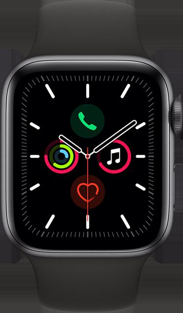 Apple Watch Series 5 44mm Space Gray Aluminum Black Sport 32 Gb From At T Buy Apple Watch Apple Watch Apple Watch Series