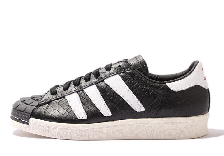 new arrival 3bfae 62e47 Adidas Superstar 80S Predator Black White FashionD65472  259.00