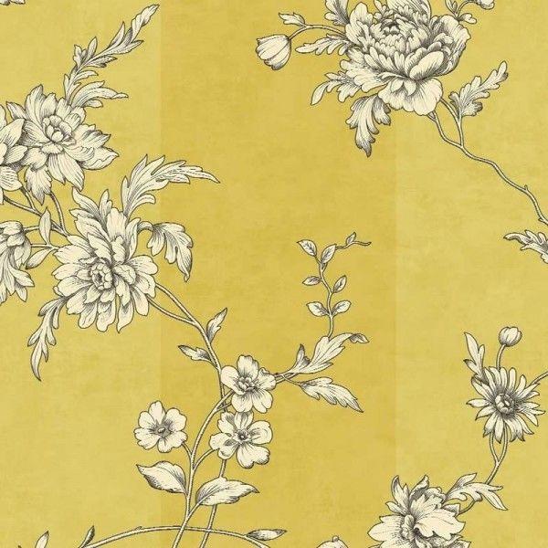 Chantilly Mimosa Wallpaper