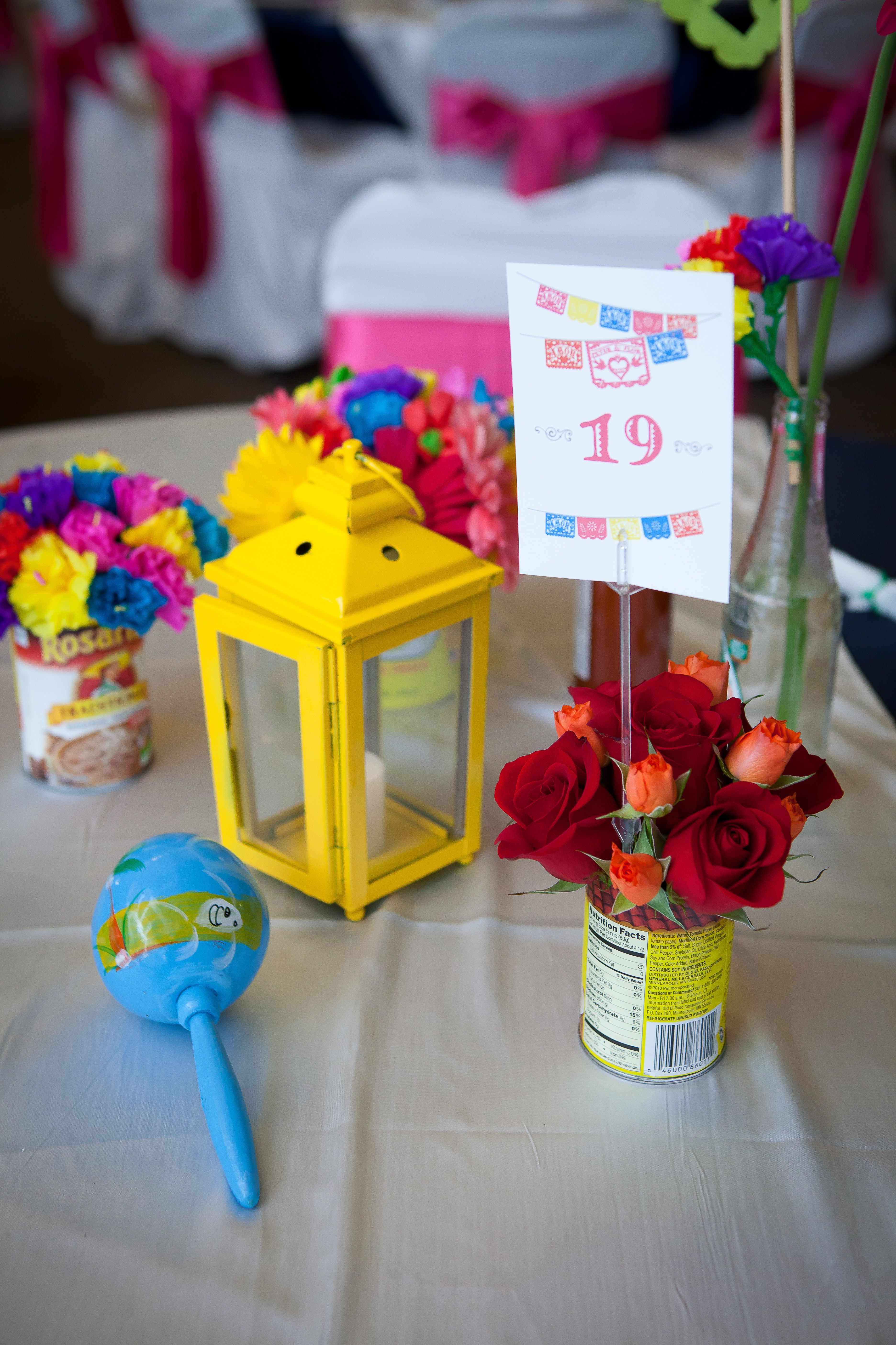 Mexican Themed Wedding. Mexican Wedding Favors. Mexican Table Runner ...