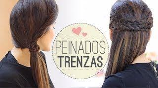 peinados formales juveniles - YouTube