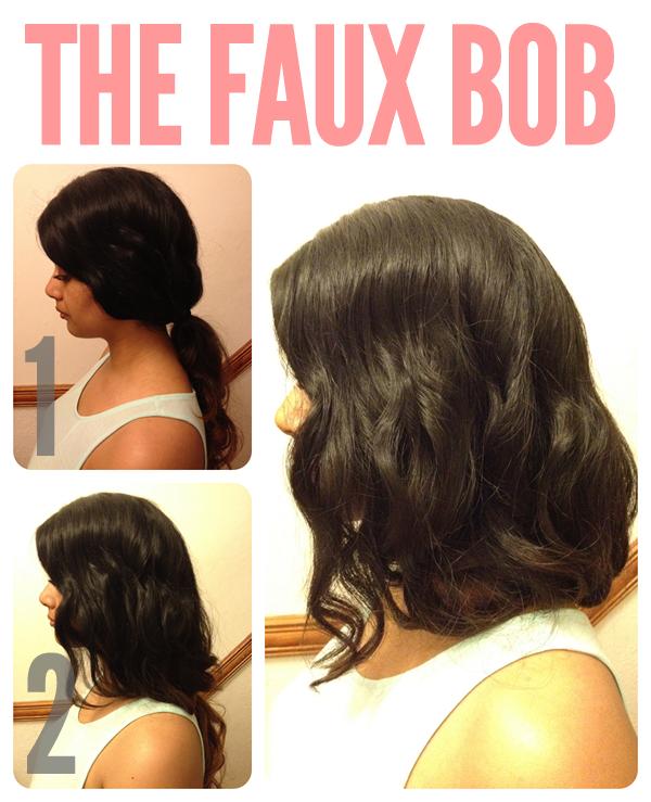 The Faux Bob a la Olivia Palermo