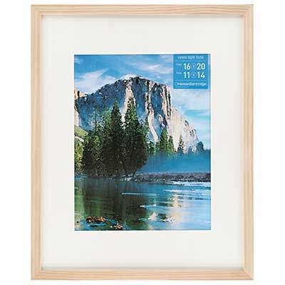 """Gallery Wood Frame Natural 14""""x18""""/11""""x14"""""""