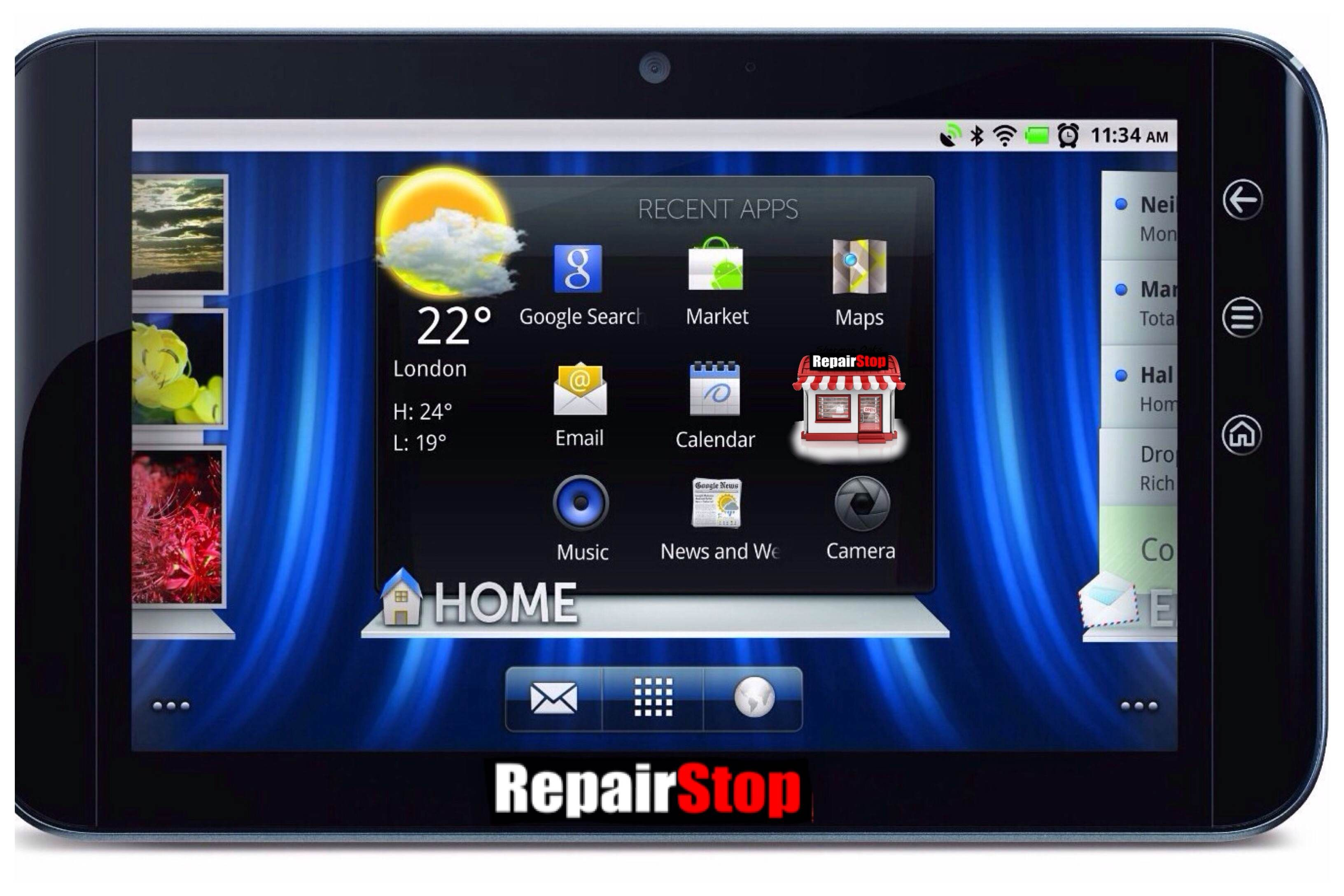 Dell® Streak Tablet Repair Services More Info http
