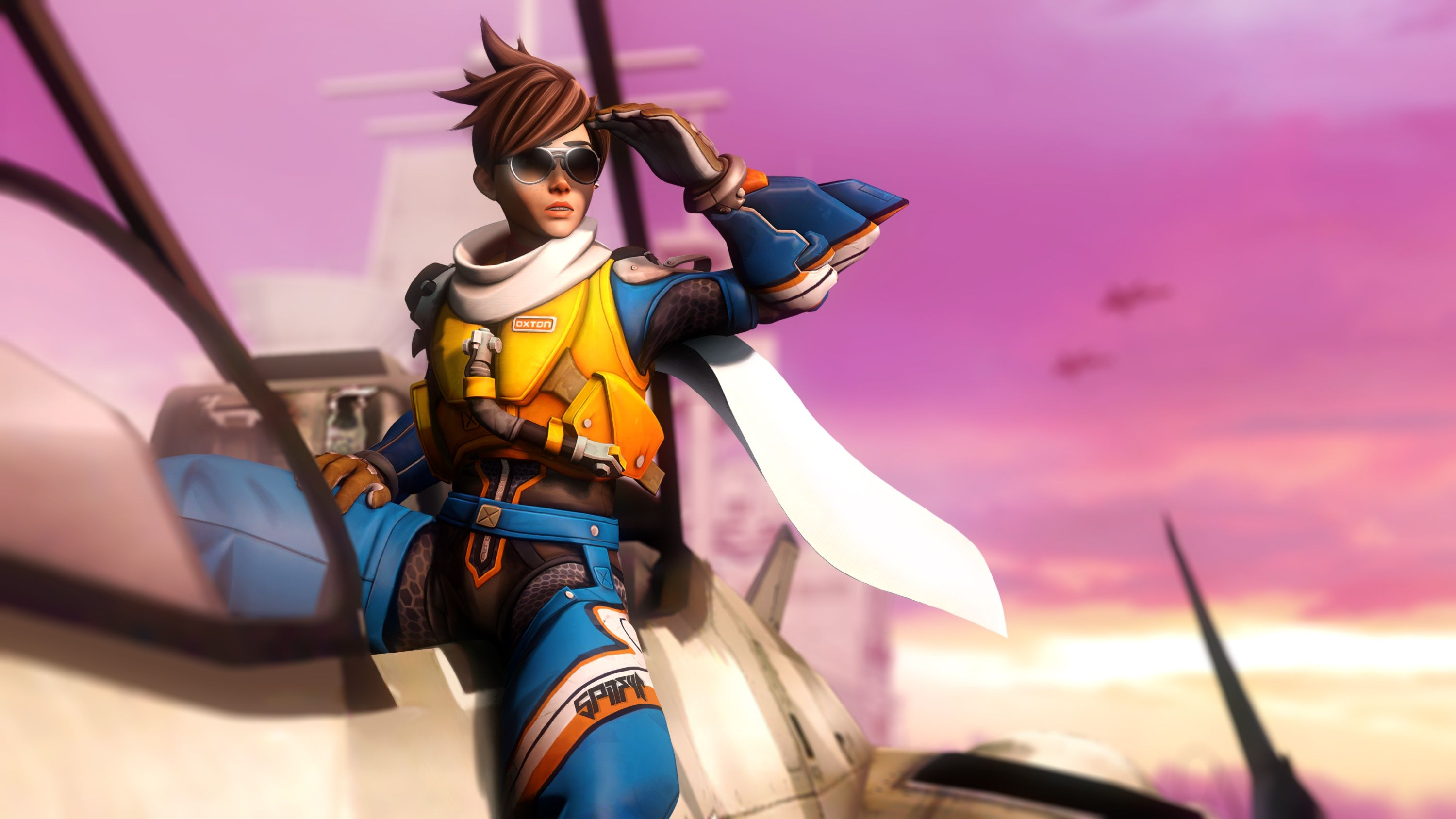 Tracer Overwatch Hd Wallpapers Backgrounds Wallpaper Hd