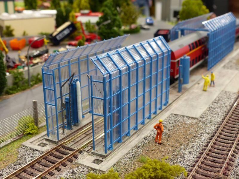 Train wash | Model Railroad | Model trains, Train, N scale