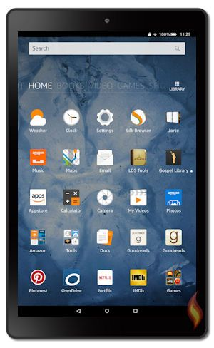Kindle Fire HD 2016 Models 6th Generation Tablet | About the Kindle