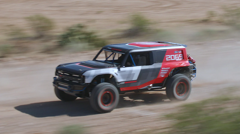 The 2020 Ford Bronco R Will Race At The Baja 1000 With Images