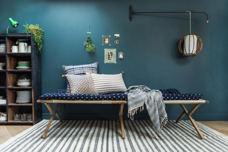 Les jolis textiles indiens de Jamini design Catalog, Living rooms