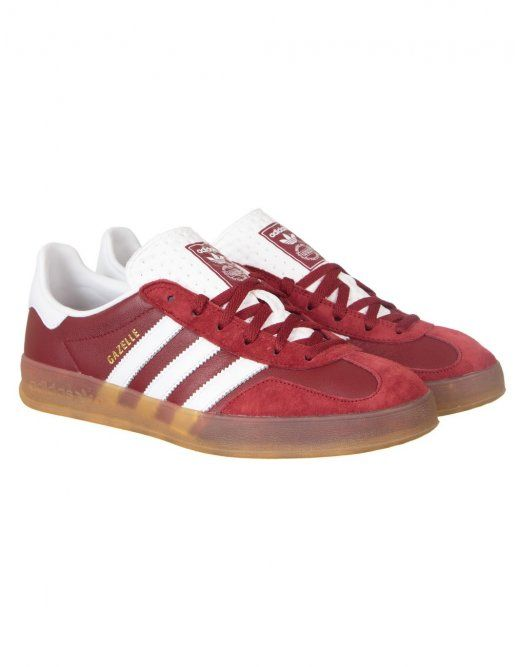 cozy fresh 46862 98c77 Adidas Originals Gazelle Indoor Shoes - Rust Red | Adidas ...
