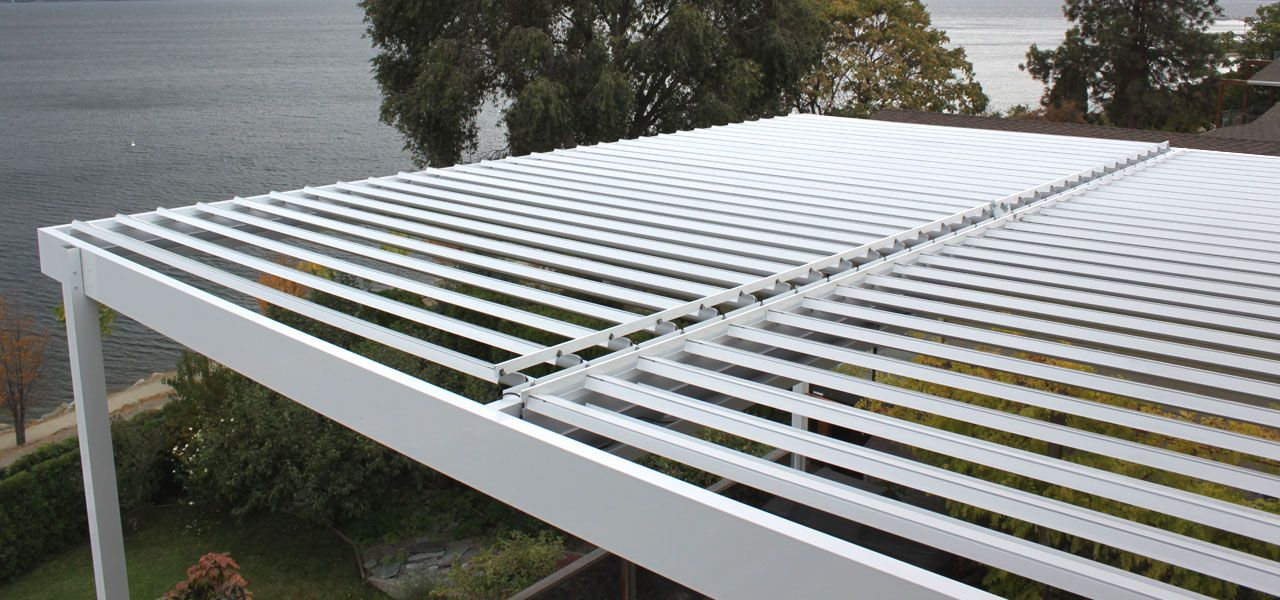 sloped purlins for runoff for install of polycarbonate roofing