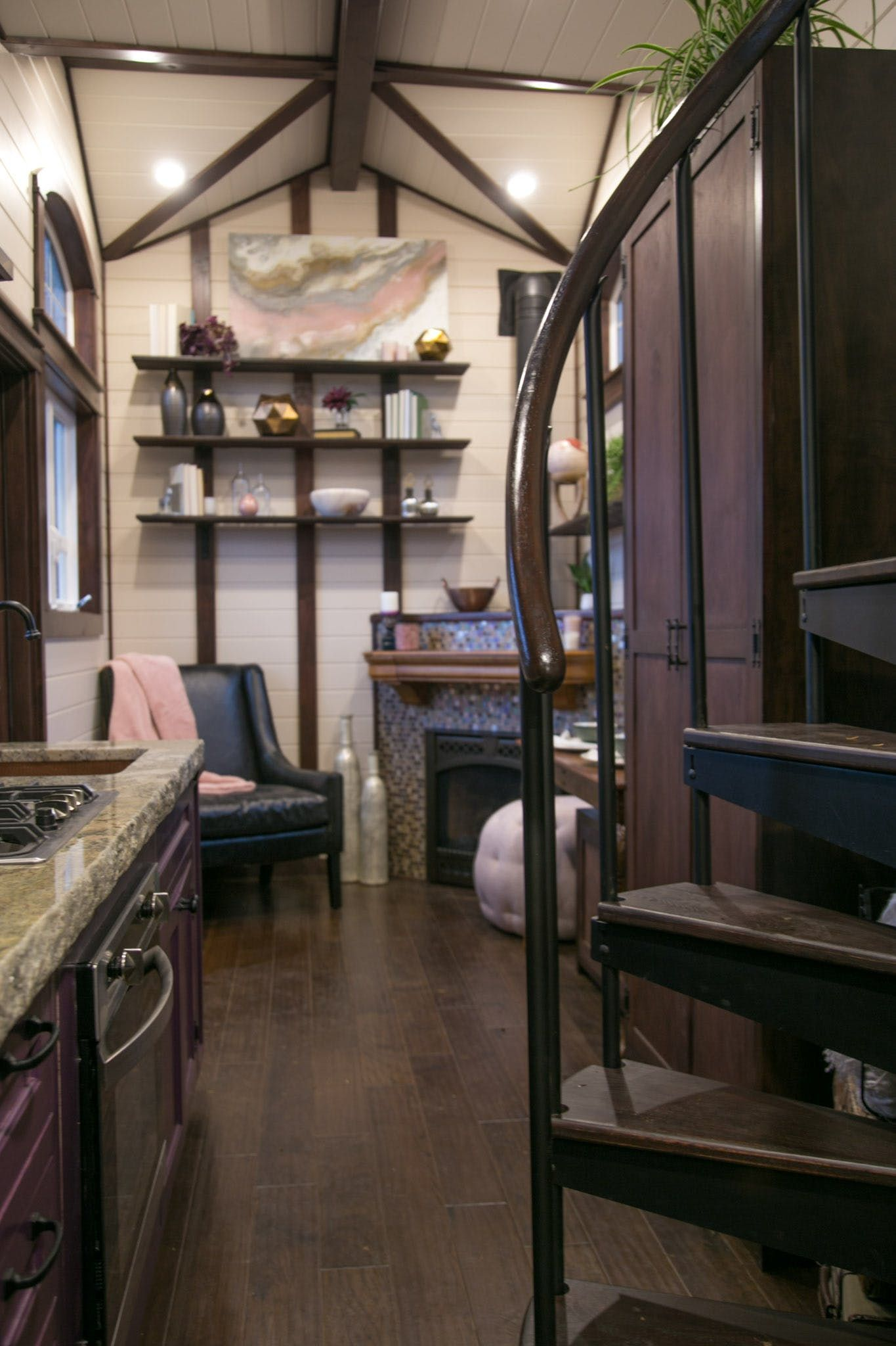 Peek Inside This Adorable 220 Sf Tudor Inspired Tiny House