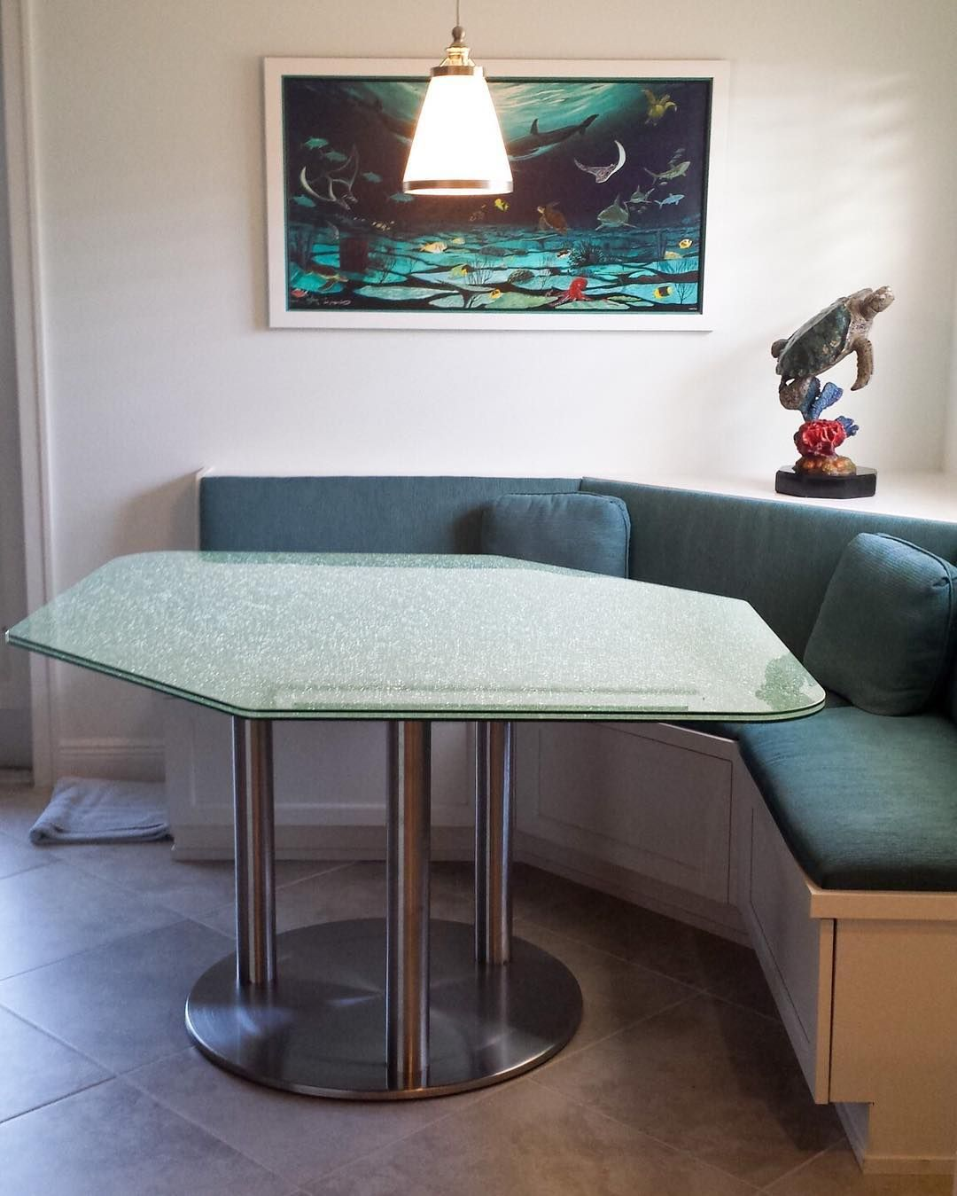 This Photo Comes Courtesy Of Kathy Frizzel Who Used Our RFLX - Custom stainless steel table top