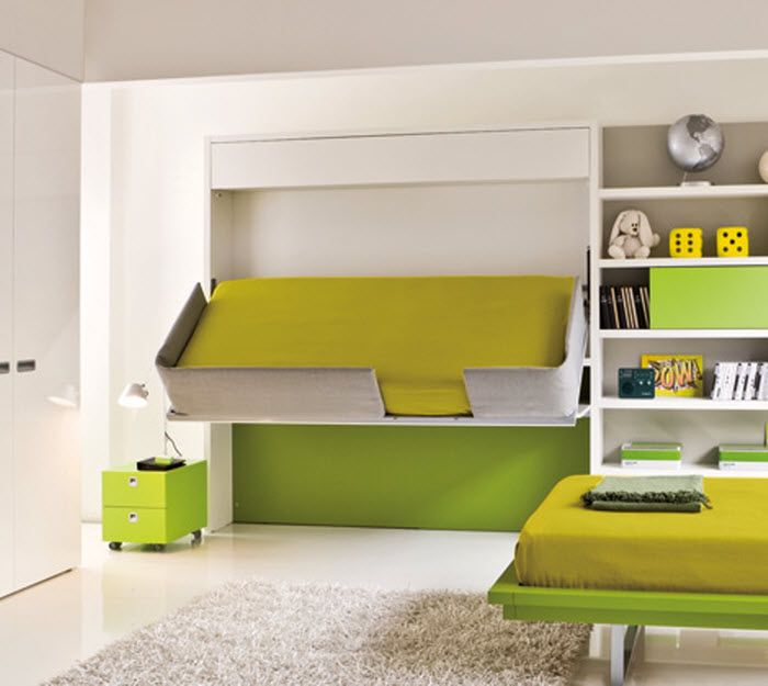 Space Saving Childrens Rooms: 5 Solutions For The Kids Room - Lighthouse Garage Doors - Space Saving Childrens Beds With Regard To Space Saving Childrens ... & Space Saving Childrens Rooms: 5 Solutions For The Kids Room ...