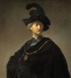 Rembrandt Harmensz. van Rijn, Old Man with a Gold Chain, 1631. Mr. and Mrs. W. W. Kimball Collection, 1922.4467.