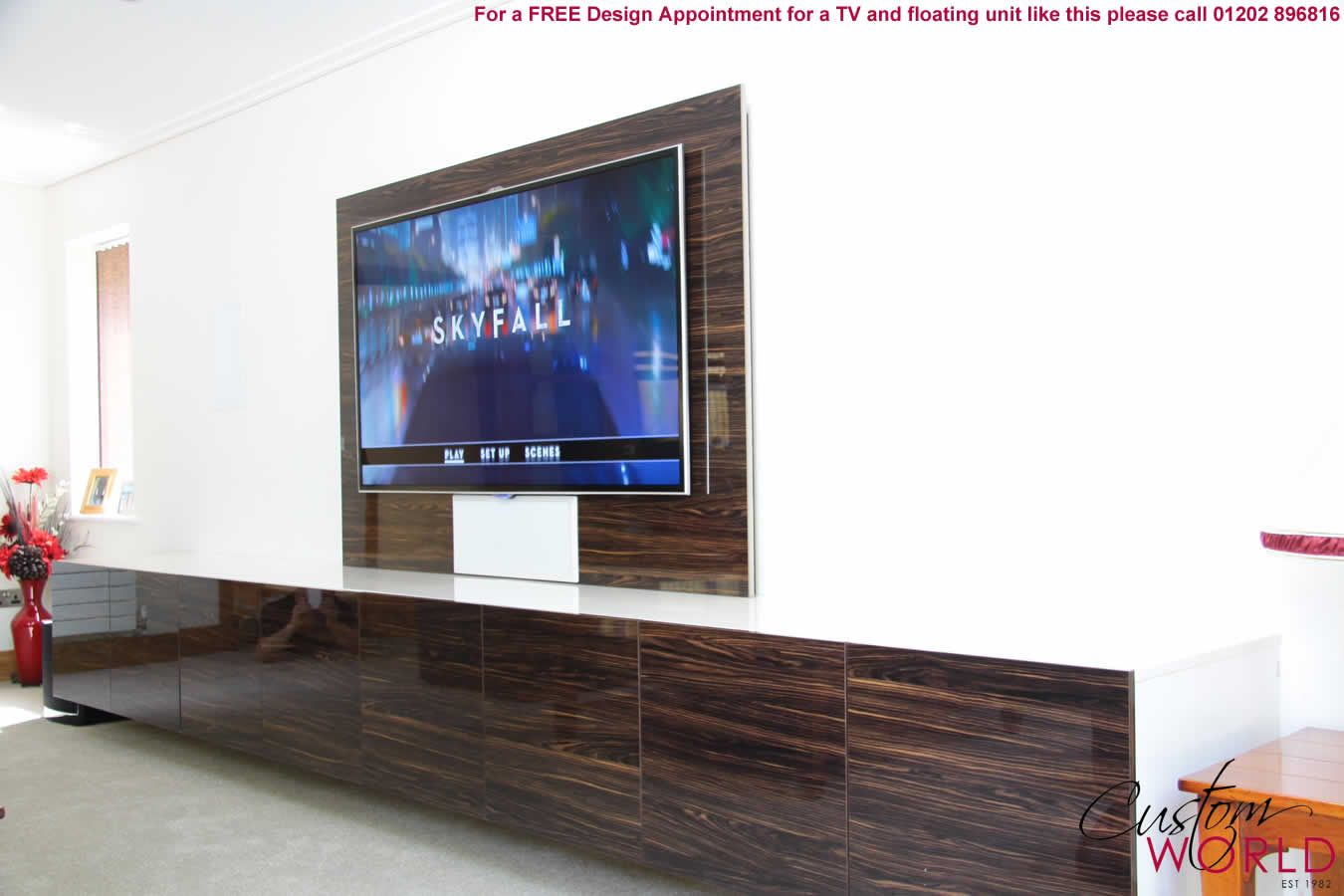 Floating Tv Unit Uk Google Search Home Decor That I Love  # Meuble Banc Tv Design