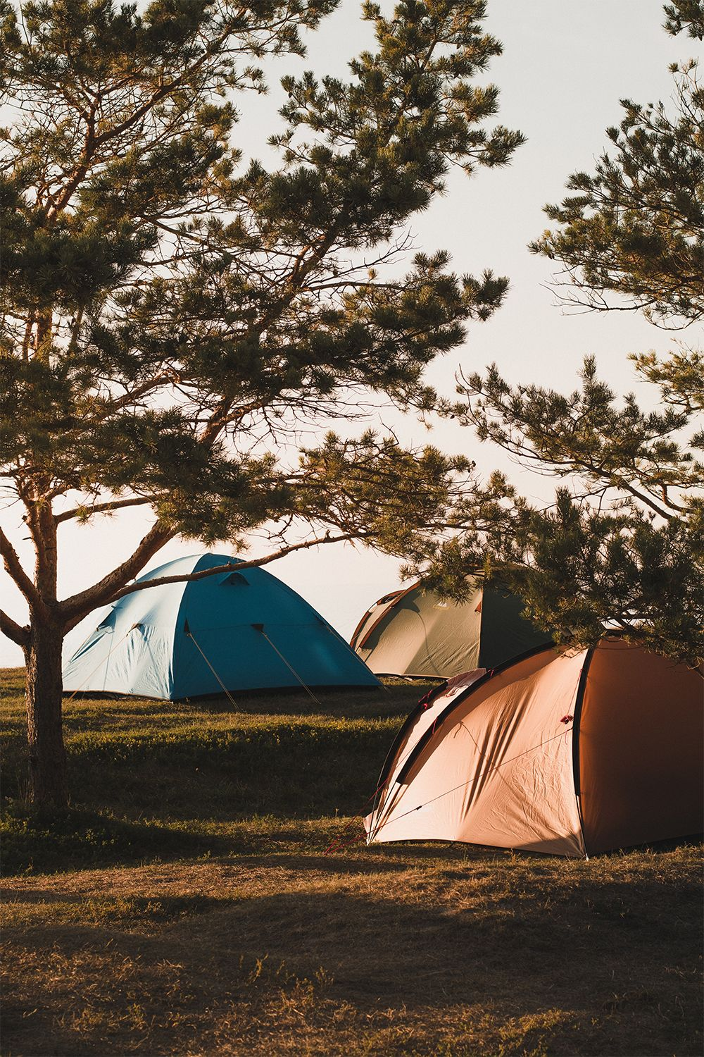 Camping With A Tent Camping Types Of Hiking Trip