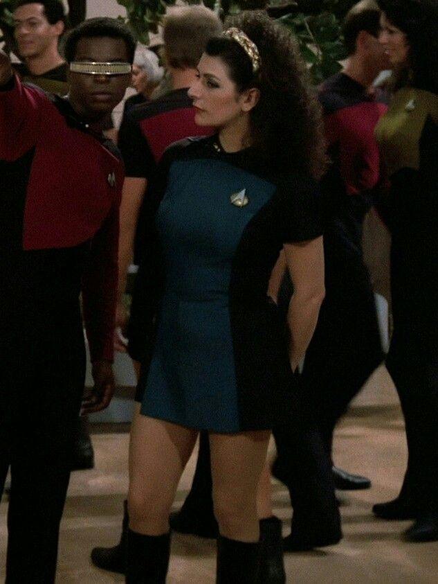 Deanna Troi Cosplay Pinterest Star Trek Trek And Star