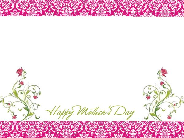 6 Free Mother S Day Borders For Cards Scrapbooks And Other