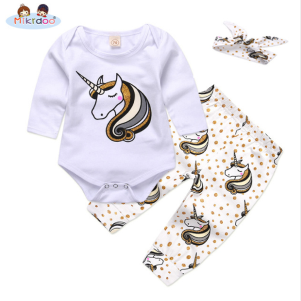 9df95b9ec1c9 Children and Young. Baby girl clothes 2018 spring top quality newborn baby  girl boys romper+pant+bow clothing Cotton Newborn baby Clothes Sets