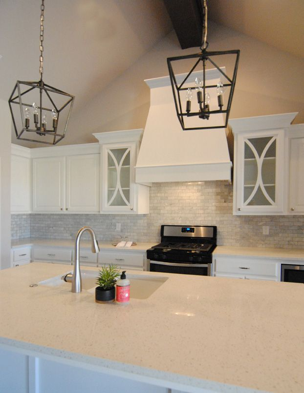 Ventura Homes in Lubbock, Texas | all white kitchen ...
