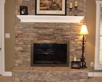 ideas of refacing a fireplace | fireplace refacing ideas