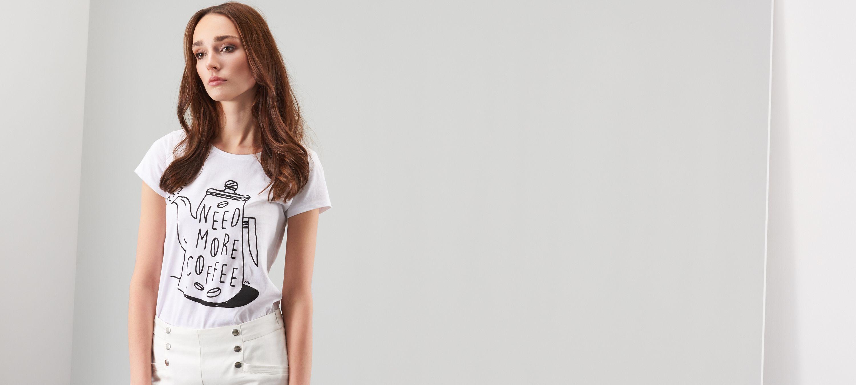 T-shirt z nadrukiem, RESERVED