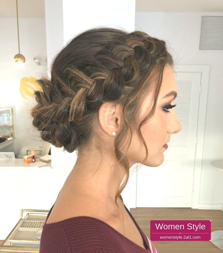 39 Elegant Updo Hairstyle For Wedding Party Elegant Hairstyle Party Wedding Trendhairstyle Trend Hairstyle New Site Braided Hairstyles Updo Hair Styles Prom Hairstyles Updos