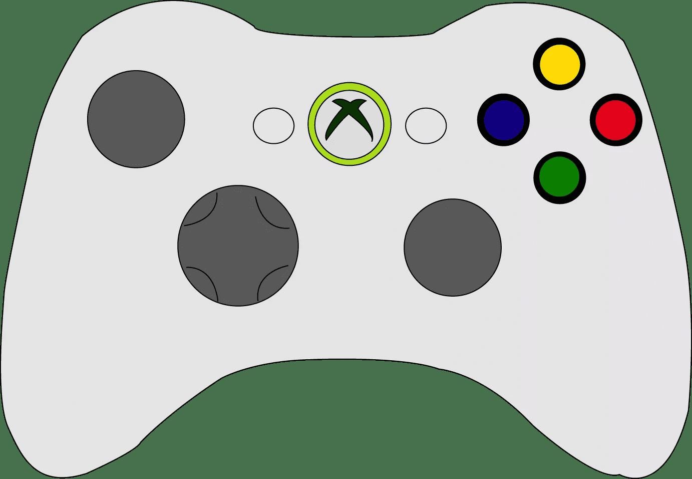8 Coloring Page Xbox Controller Coloring Pages Xbox Controller Printable Coloring