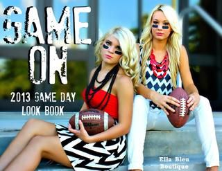 SUPER CUTE Game Day looks ~ 2013 Game Day look book from Ella Bleu Boutique!