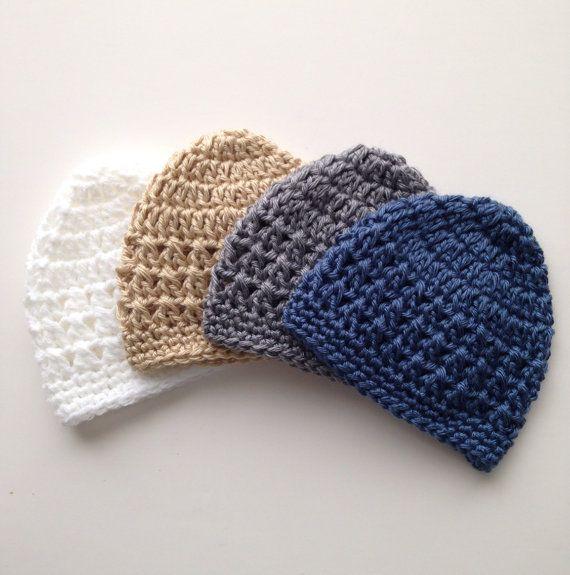ea218d95f75 Baby Boy Crochet Hat Pattern - Newborn up to 6 months