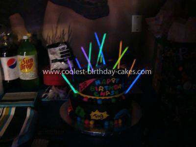 Coolest Laser Tag Birthday Cake Laser tag birthday Birthday cakes