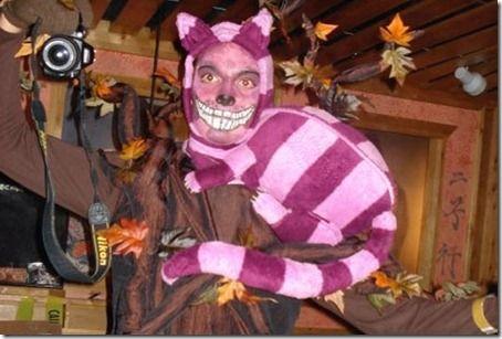 Disfraz casero de Gato de Cheshire (Alicia en el país…) - Disfraces de halloween de gato ...