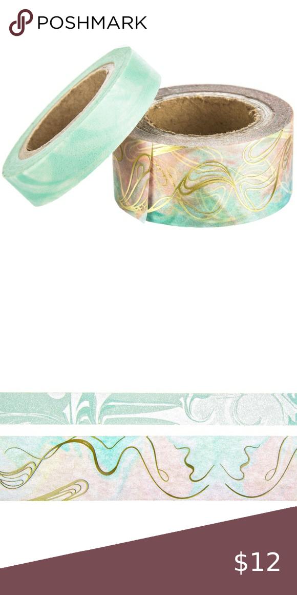 Mermaid Coral Washi Tape