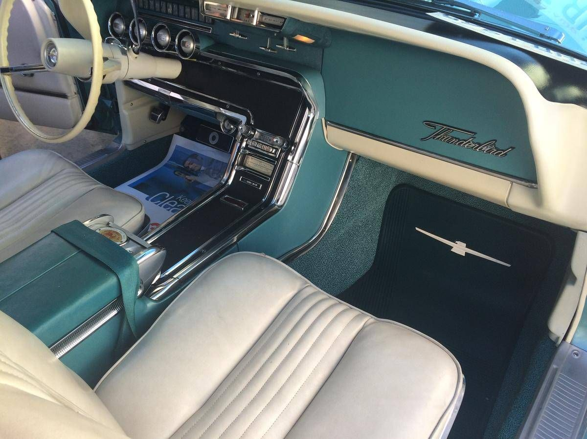 1965 Ford Thunderbird Convertible With Images Ford Thunderbird