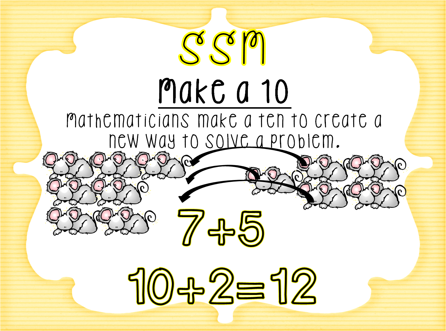 First Grade Wow: subtraction-strategy posters