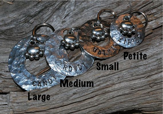 Pet ID Tag Personalized and Hand stamped  Princess by caninecloset, $10.00