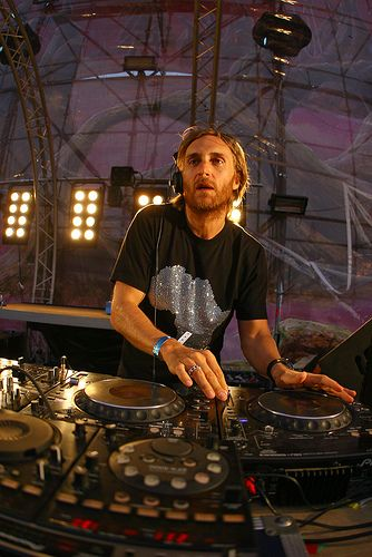 David Guetta. He's one of my favorite DJ's. It would be an amazing experience to watch him perform!
