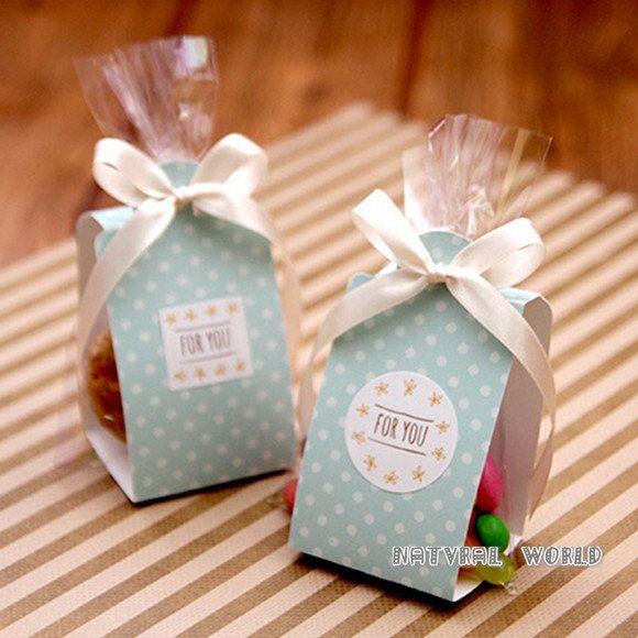 Polka Dot Cake Cookie Bag Set Cellophane Bags Cookies