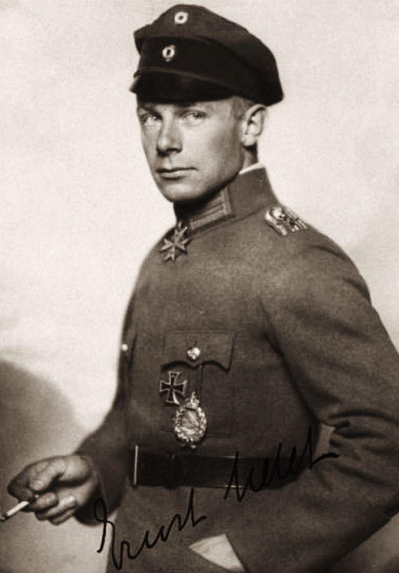Oberleutnant Ernst Udet