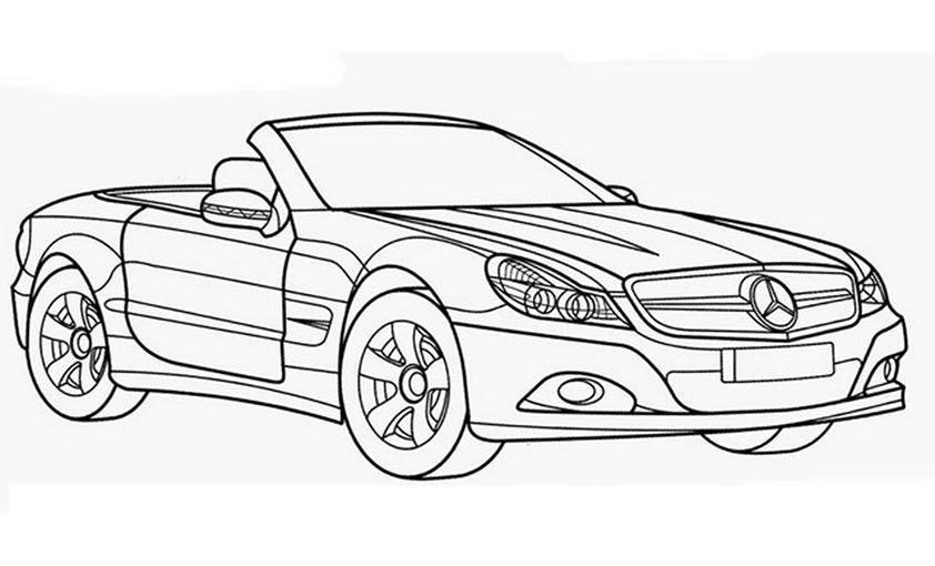 Ausmalbilder Mercedes 463 Malvorlage Autos Ausmalbilder