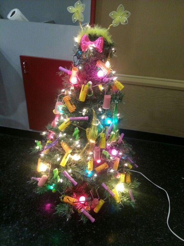Hair Stylist Christmas Tree Hair Salon Decor Christmas Ornaments Christmas