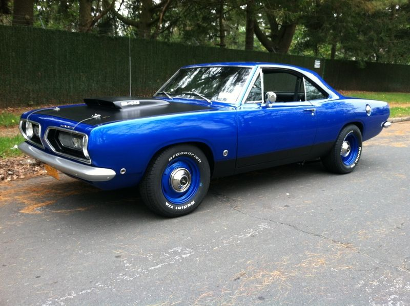 sold 68 barracuda 340 4speed 391 rear plymouth. Black Bedroom Furniture Sets. Home Design Ideas
